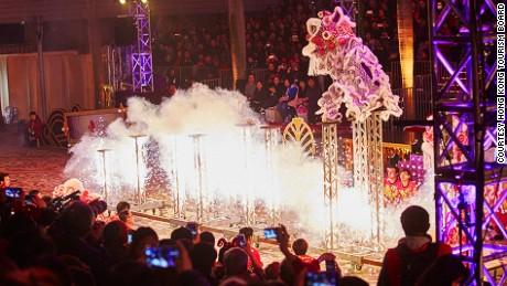 Reinventing Lion Dance Cheung Keung Hong Kong