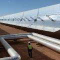 solar plant noor morocco pipes