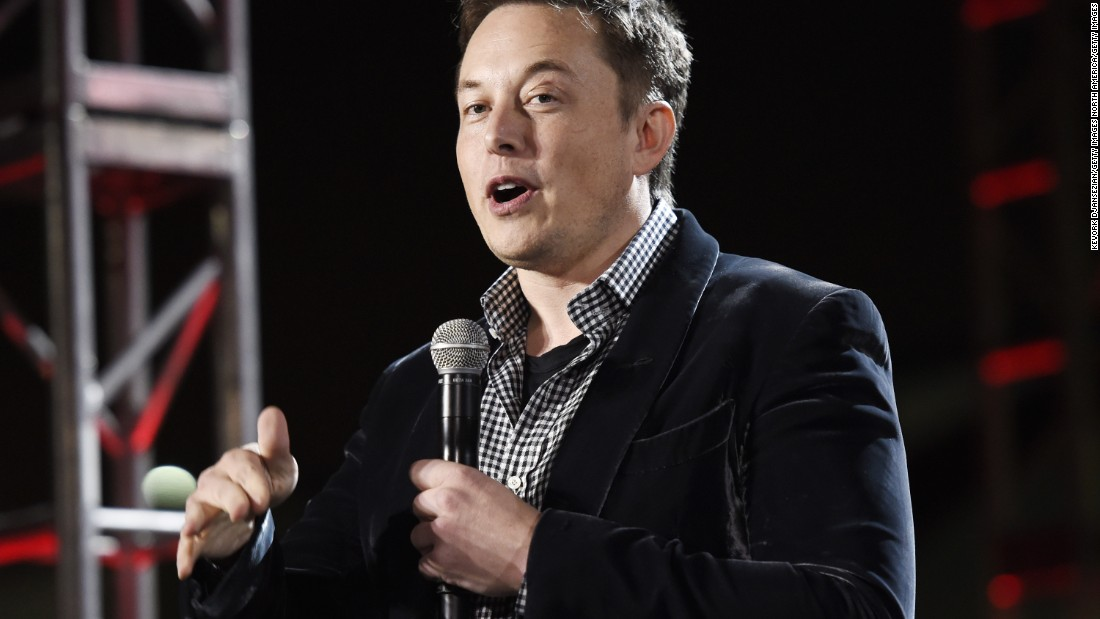 """""""Humanity's position on this planet depends on its intelligence, so if our intelligence is exceeded, it's unlikely we will remain in charge of the planet,"""" Musk has previously told CNN."""