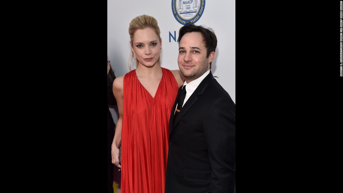 Kaitlin Doubleday and Danny Strong