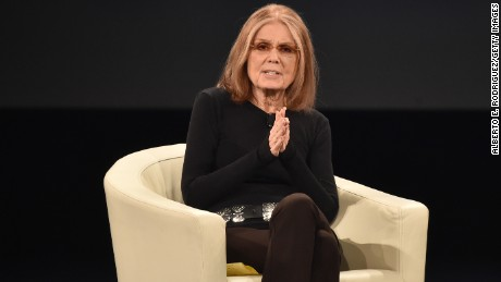 Gloria Steinem at the 2016 MAKERS Conference at Terranea Resort on February 1, 2016 in Rancho Palos Verdes, California.