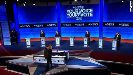 abc news gop debate awkward candidate entrances orig sot vstan cws 01_00011806