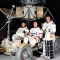 Apollo 15 crew photo