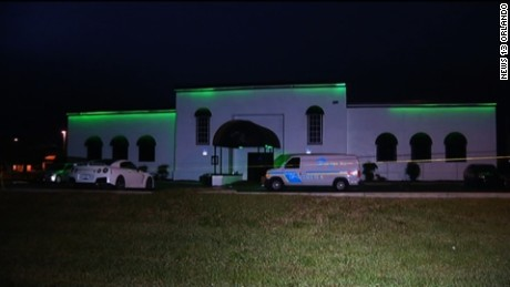 About 300 people were inside the nightclub when shots were fired, a police spokeswoman said.