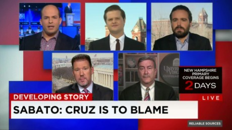 Cruz campaign 'cherry-picked' Carson reporting
