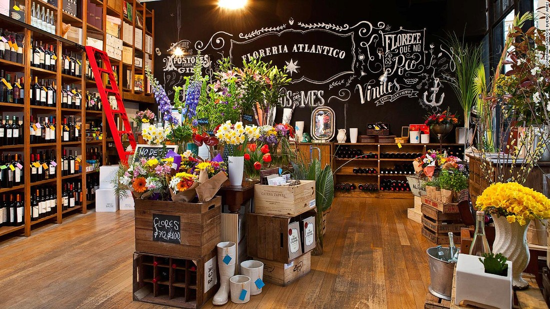 A florist/wine shop disguises this hidden bar in the city's Retiro neighborhood. Once inside, a refrigerator is actually a door that leads to a spacious basement bar.