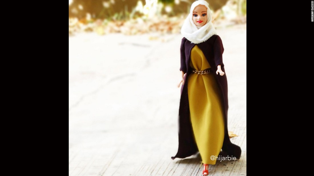 "Adam says: ""The way Barbie dresses is very skimpy and different and there's nothing wrong with it. I just wanted to give another option for Muslim girls like me."""