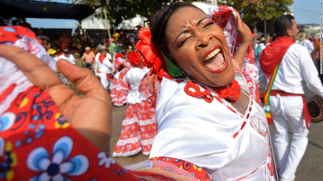 The coastal Colombian city of Barranquilla hosts what organizers claim is the world's second-largest carnival celebration, behind Rio de Janeiro. The celebration runs February 6-9 this year.
