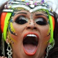 Carnival Barranquilla face
