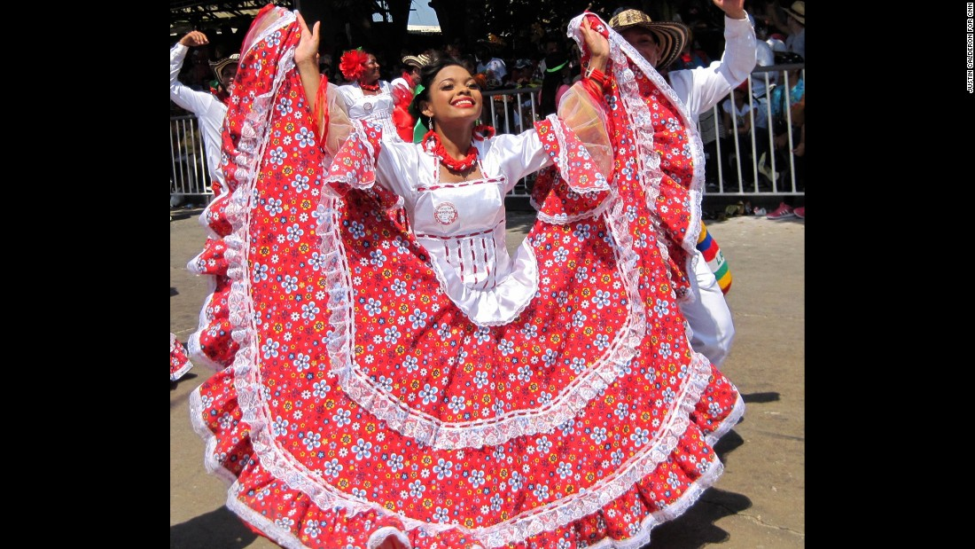 Costumes, music and dances portray the 220 years of the carnival's history.