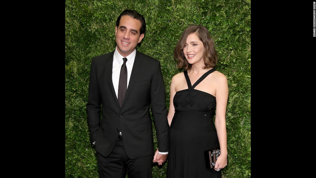 "Bobby Cannavale and Rose Byrne, who appeared in the films ""Adult Beginners"" and ""Annie"" together, have welcomed their first child together. Baby boy Rocco was born on February 1, Cannavale told Stephen Colbert on ""The Late Show."""