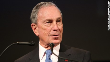 "Former Mayor of New York City, Michael Bloomberg, speaks at the ""Not One More"" Event at Urban Zen on February 10, 2015 in New York City."