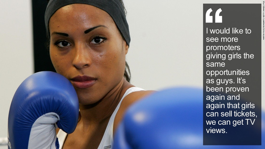 """Born in Colombia, she was adopted by a Norwegian family but had to leave her new home to become boxing's first undisputed women's champion. <a href=""""http://edition.cnn.com/2016/02/10/sport/cecilia-braekhus-norway-boxing/index.html"""" target=""""_blank"""">Read more</a>"""