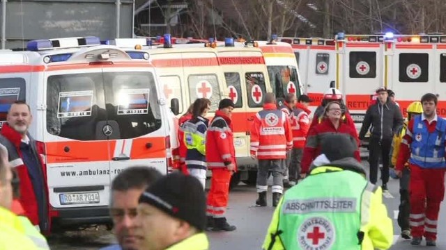 Nine dead, 50 seriously injured after head-on train crash in Bavaria, Germany