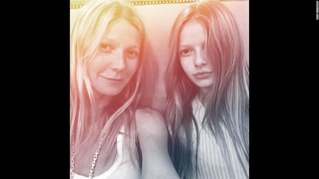 In February, Gwyneth Paltrow posted a selfie with lookalike daughter, 11-year-old Apple Martin, on Instagram.