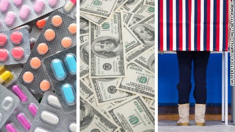 Big Pharma's big donations to 2016 presidential candidates