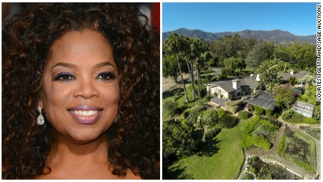 Oprah Winfrey's $28 million property purchase.