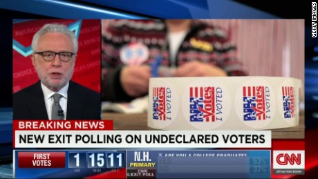 new hampshire undeclared voters exit polls sot chalian tsr _00001427.jpg