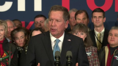 John Kasich: They spent tens of millions against us