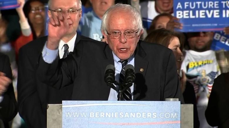 Bernie Sanders' New Hampshire victory speech