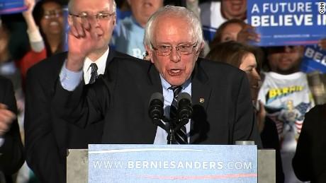 Watch Bernie Sanders' New Hampshire victory speech