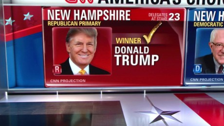 CNN's New Hampshire coverage in 90 seconds