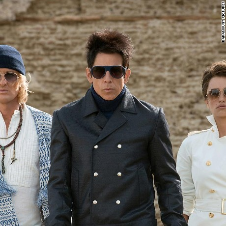 "Owen Wilson, Ben Stiller and Penelope Cruz in ""Zoolander 2."""