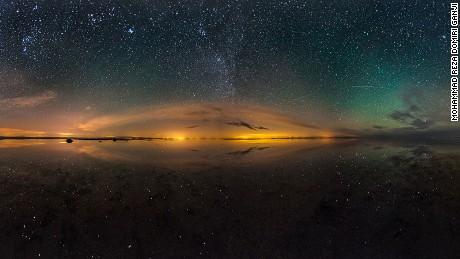 Maranjab: Desert reflections.
