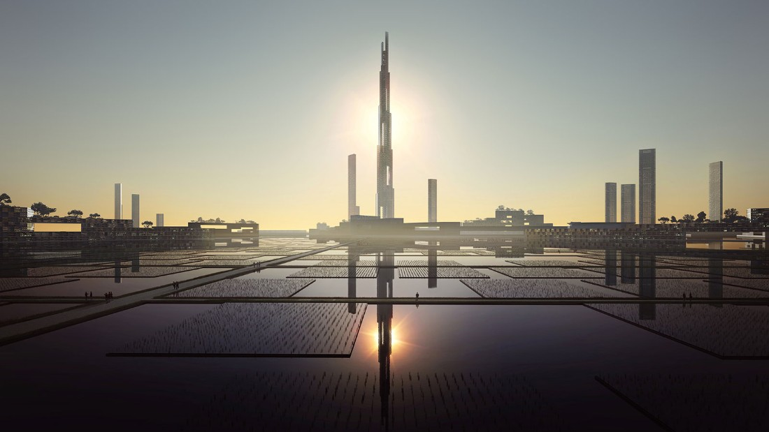 In Feburary, a proposal for a mile-high tower in Tokyo was revealed. <br /><strong>Height: </strong>1,600m<strong> </strong>(5,250ft) <strong><br />Architect: </strong>Kohn Pefersen Fox Associates and Leslie E Robertson Associates