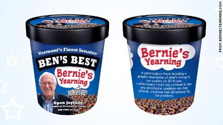 bernie tries ben and jerrys bernies yearning ice cream _00000000
