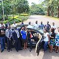 Africa solar bus Uganda team