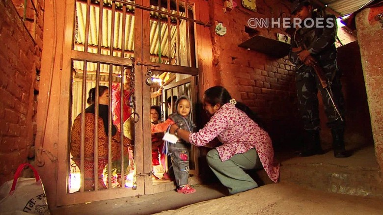 One woman pulls children out of Nepal's prisons