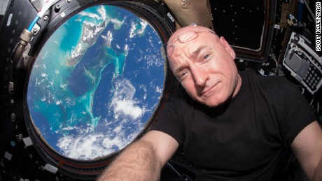 Just before the 15th anniversary of continuous human presence on the International Space Station on Nov. 2, 2015, U.S. astronaut and commander of the current Expedition 45 crew, Scott Kelly, is breaking spaceflight records. On Friday, Oct. 16, Kelly begins his 383rd day living in space, surpassing U.S. astronaut Mike FinckeÕs record of 382 cumulative days. Kelly will break another record Oct. 29 on his 216th consecutive day in space, when he will surpass astronaut Michael Lopez-AlegriaÕs record for the single-longest spaceflight by an American. Lopez-Alegria spent 215 days in space as commander of the Expedition 14 crew in 2006.  In this July 12 photograph, Kelly is seen inside the Cupola, a special module which provides a 360-degree viewing of the Earth and the space station. On each additional day he spends in orbit as part of his one-year mission, Kelly will add to his record and to our understanding of the effects of long-duration spaceflight.  Kelly is scheduled to return to Earth on March 3, 2016, by which time he will have compiled 522 total days living in space during four missions.