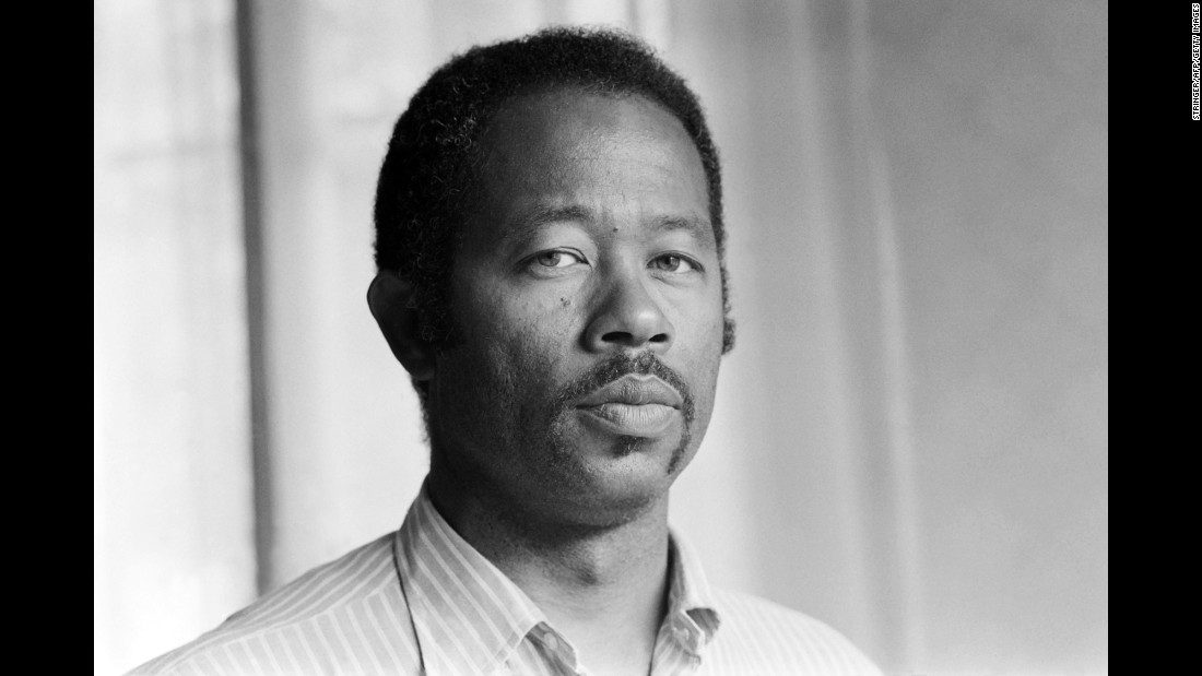 "Eldridge Cleaver, one of the original members of the radical Black Panther Party, poses in Paris in May 1975.  Appointed the Panthers' minister of information, Cleaver wrote ""Soul on Ice,"" regarded as a handbook of the movement that preached violence and revolution as the only means to achieve black liberation in America. He fled the U.S. in the late '60s and after three years in exile turned his back on the Black Panthers. <br /><br />Cleaver returned to the U.S. in 1975 to face justice. Denouncing his former movement, he was given a conditional release and sentenced to 2,000 hours of community service."