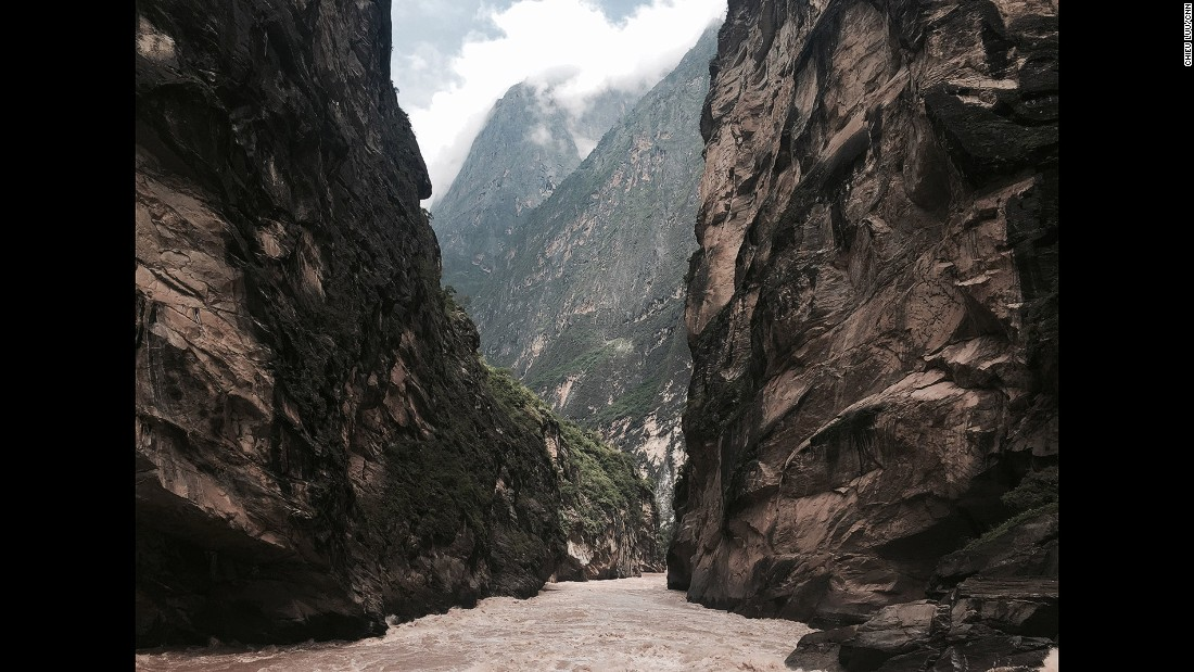 With vertical drops of more than 3,000 meters, Tiger Leaping Gorge is one of the deepest canyons in the world. By comparison, the U.S. Grand Canyon is about 1,800 meters from rim to river.