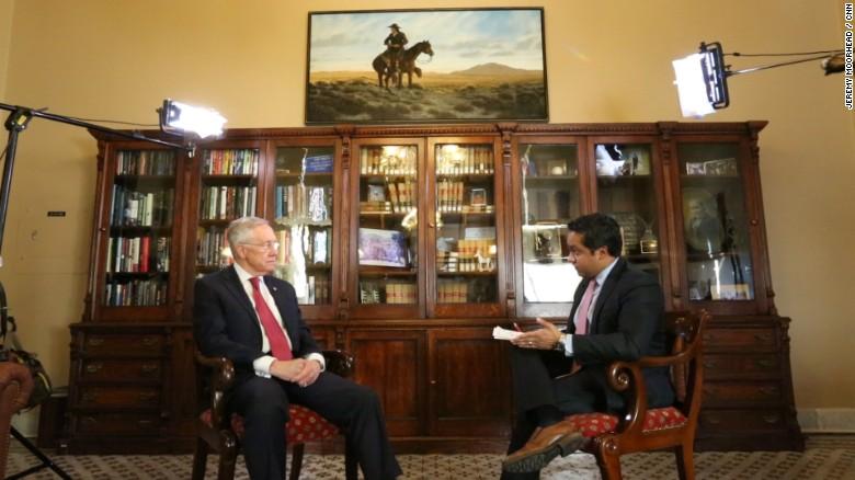 Senator Reid talks Hillary, Bernie and Trump