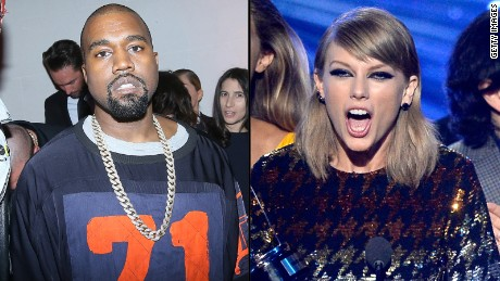 Kanye West Taylor Swift split