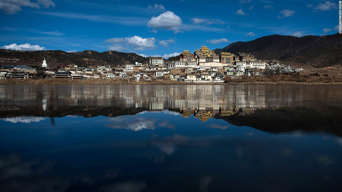 Ganden Sumtseling is a Tibetan Buddhist monastery in Zhongdian, (also known as the Shangri-La City), located in Yunnan's Diqing Tibetan Autonomous Prefecture.