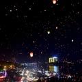Yunnan water splashing lantern fest