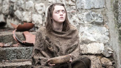 Will a blind Arya Stark (Maisie Williams) continue her training with the Faceless Men in Braavos?