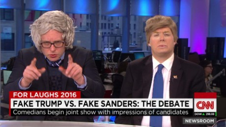 cnn newsroom bernie sanders donald trump impersonators newsroom brooke baldwin_00004123.jpg