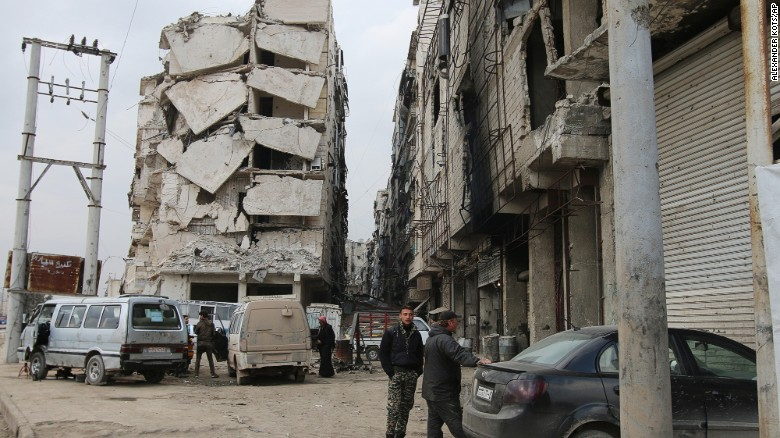 This is what it looks like to be lucky in Syria