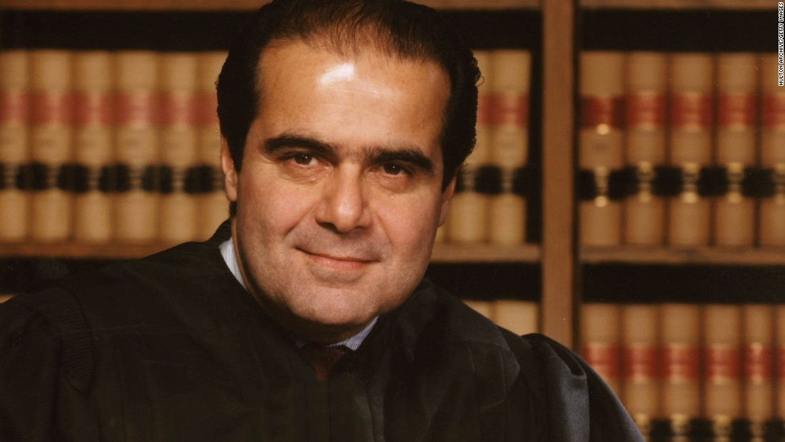 "U.S. Supreme Court Justice <a href=""http://www.cnn.com/2016/02/13/politics/supreme-court-justice-antonin-scalia-dies-at-79/"" target=""_blank"">Antonin Scalia</a>, the leading conservative voice on the high court, died at the age of 79, a government source and a family friend told CNN on February 13."