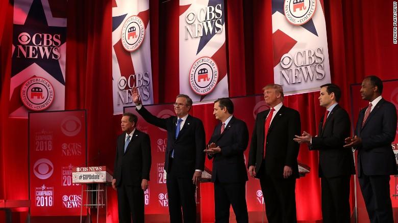 The CBS Republican debate in 2 minutes