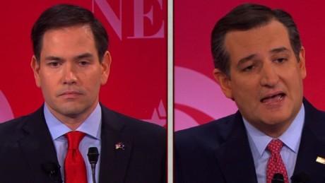Marco Rubio accuses Ted Cruz of lying