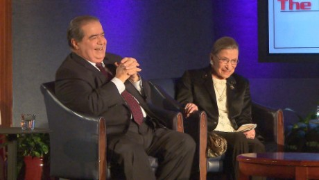 Scalia forged unlikely friendship with Ruth Bader Ginsburg