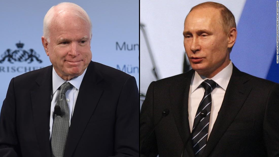 McCain says independent Russia probe needed | CNN | Bloglovin'