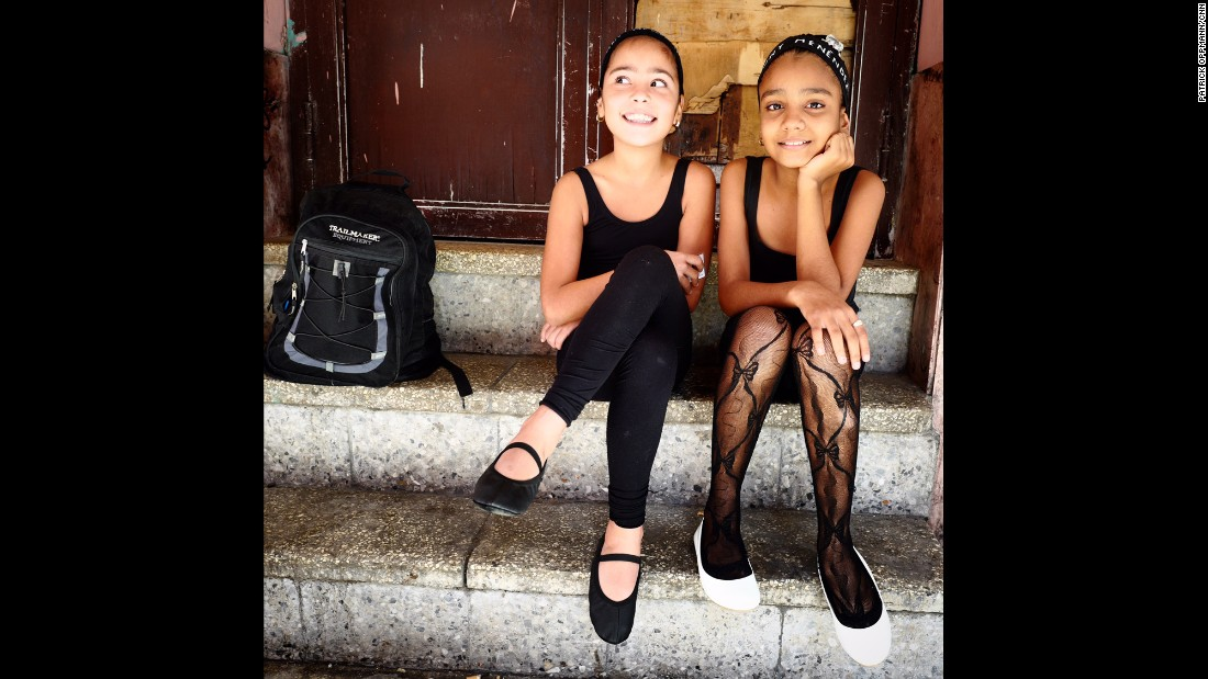 "CUBA: Waiting for ballet class in Centro Habana. Photo by CNN's Patrick Oppmann <a href=""http://instagram.com/cubareporter"" target=""_blank"">@cubareporter</a>, February 13."
