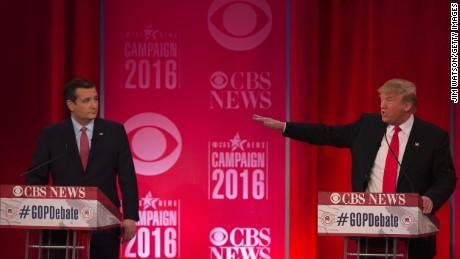 Trump escalates rhetoric on Cruz