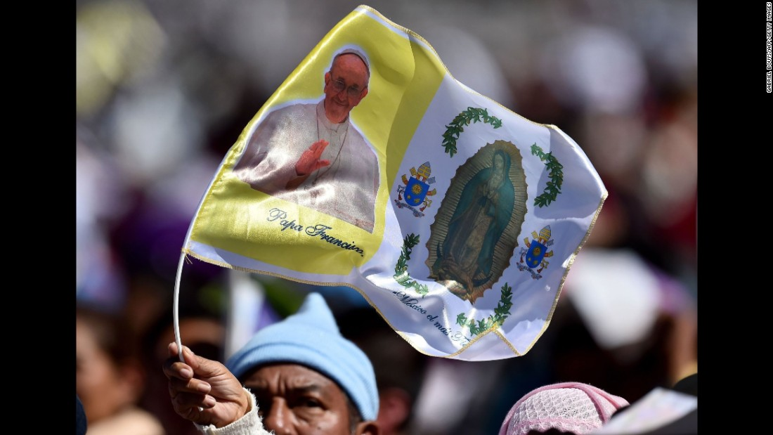 Thousands of indigenous Mexicans flocked to a field in San Cristobal de Las Casas to celebrate Mass with Pope Francis on February 15.